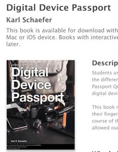 Digitaldevicepassportbook